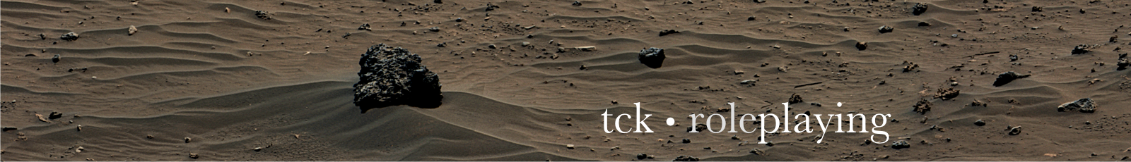TCK Roleplaying Blog