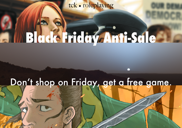 TCK Roleplaying Black Friday Anti-Sale